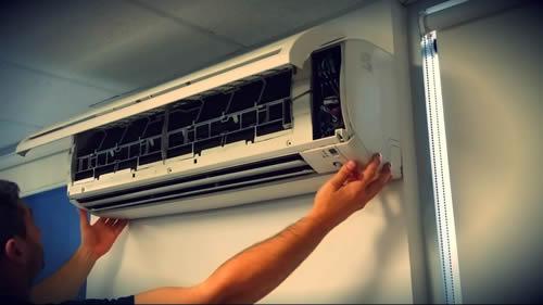 install aircon